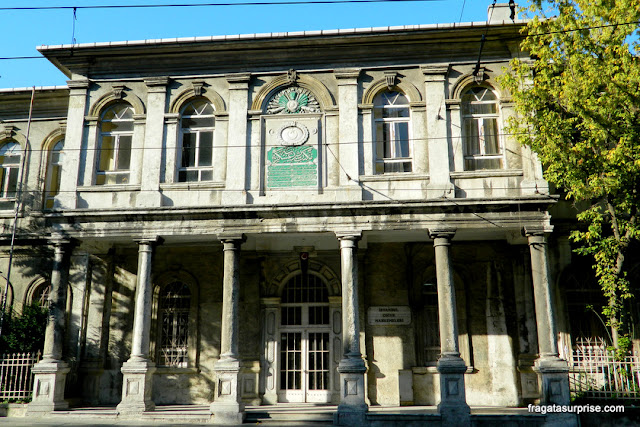 Fachada em Sultanahmet, Istambul