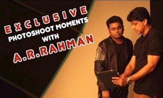 A R Rahman's favorite 5 STILLS! | Venket Ram Celebrity Photographer Interview