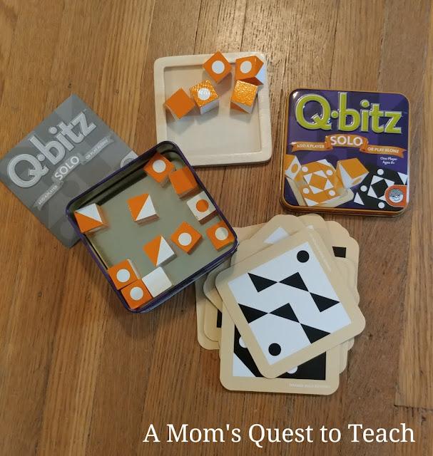 Q Bitz solo game