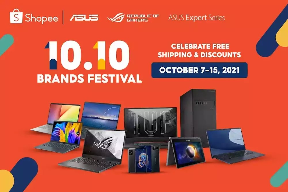 ASUS and ROG at Shopee 10.10 Brand Festival