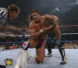 WWF / WWE - King of the Ring 96 - British Bulldog challenged Shawn Michaels for the WWF Title