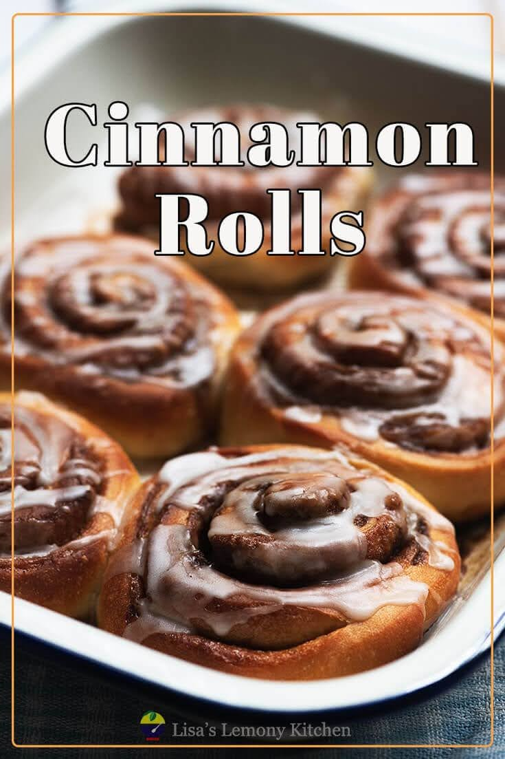 These Cinnamon rolls with a hint of lemon and drizzled with lemon icing are amazing. This cinnamon rolls recipe  is a keeper.