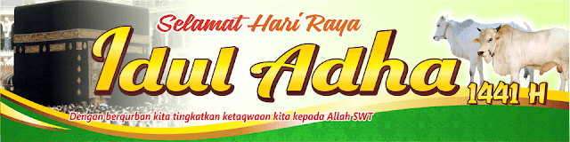 Contoh Spanduk Qurban Format CDR