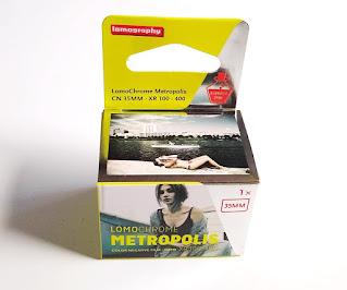 Lomochrome METOROPOLISパッケージ
