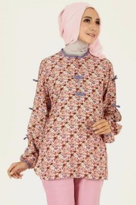 model baju batik atasan wanita terbaru