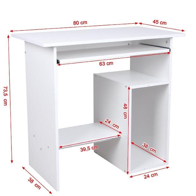 ¿Cómo construir una mesa para computadoras? Guía con Planos