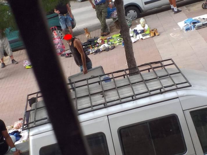 Vendedores Ambulante en Palma Palmilla