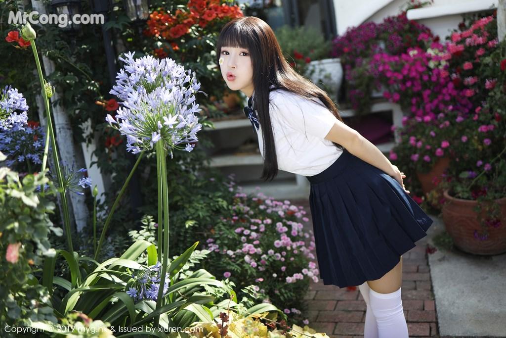 MyGirl Vol.394: Zhu Ke Er (Flower朱可儿) (55P)