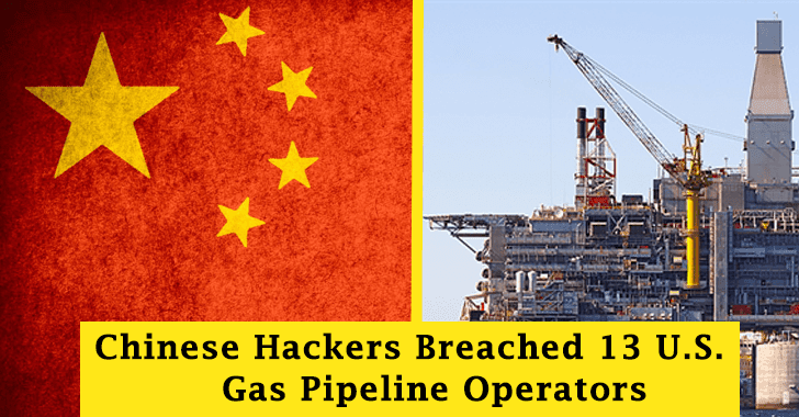 Chinese Breached 13 US ONG