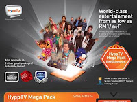 HyppTV Platinum Pack is RM30 for 33 channels