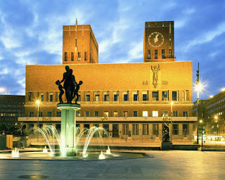 Town Hall, Oslo, Norway