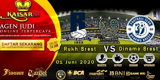 Prediksi Bola Terpercaya Belarusia Rukh Brest vs Dinamo Brest 01 juni 2020