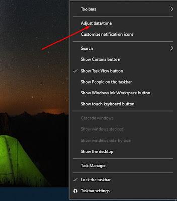 Tambahkan Jam Ekstra untuk Zona Waktu Berbeda di Windows 10