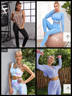 SheIn 2020 Workout Outfits - Deria's Choices