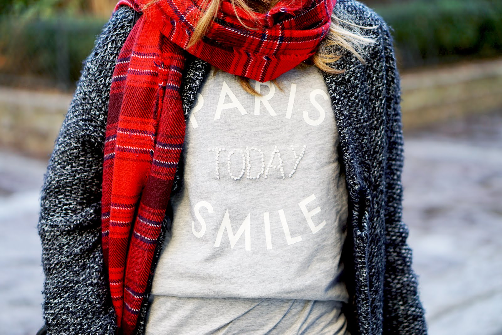 paris today smile