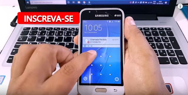 Aprenda Como Remover Senha Sem Formatar e Sem Perder Arquivos dos Aparelhos Samsung J1 Mini SM-J105.