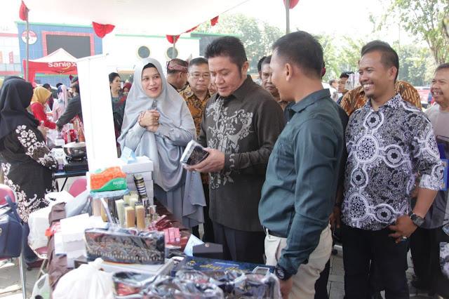 Temu Kangen Warga Sumsel di Surabaya, Herman Deru Titip Nama Baik Daerah