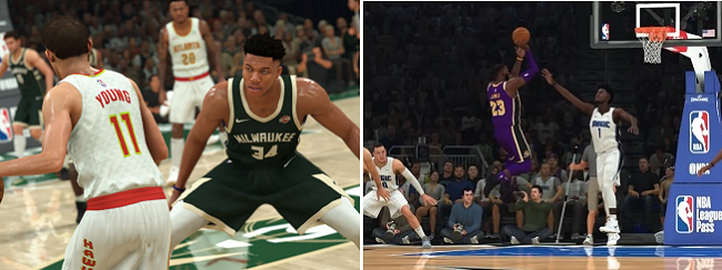 Differences in NBA 2K21 vs NBA 2K20 Gameplay