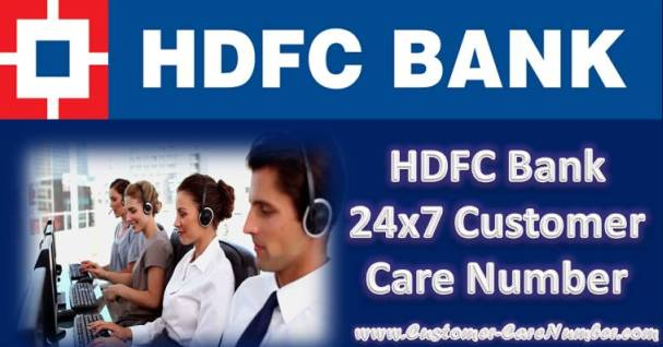 HDFC Bank 24x7 Customer Care Number