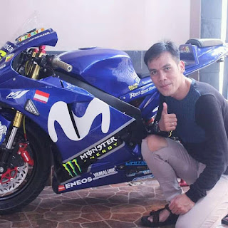 Yamaha Byson Modif Full Fairing Ala M1 GP 2019