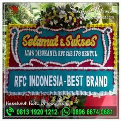 Rangkaian Bunga Papan Selamat Dan Sukses di Bekasi