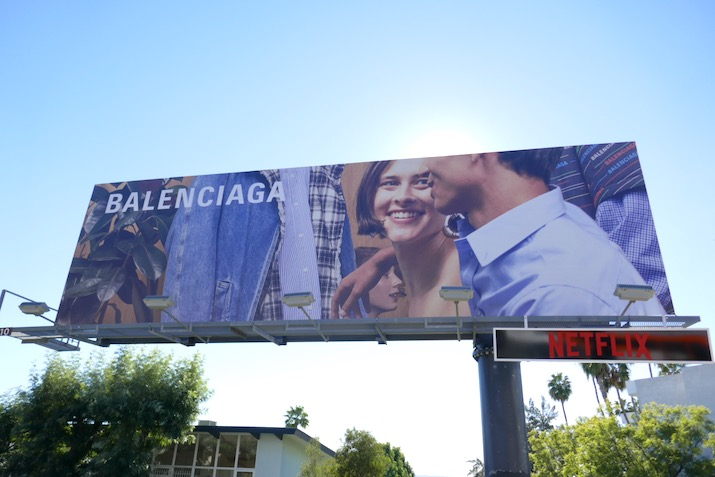 Balenciaga Spring 2019 billboard