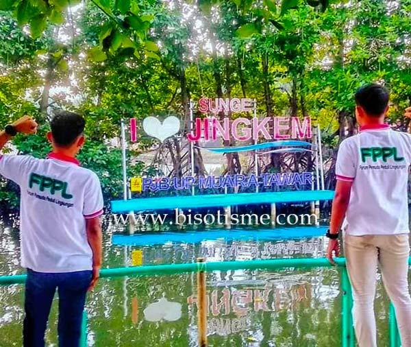 Ekowisata Mangrove Sunge Jingkem di Kampung Sembilangan Bekasi