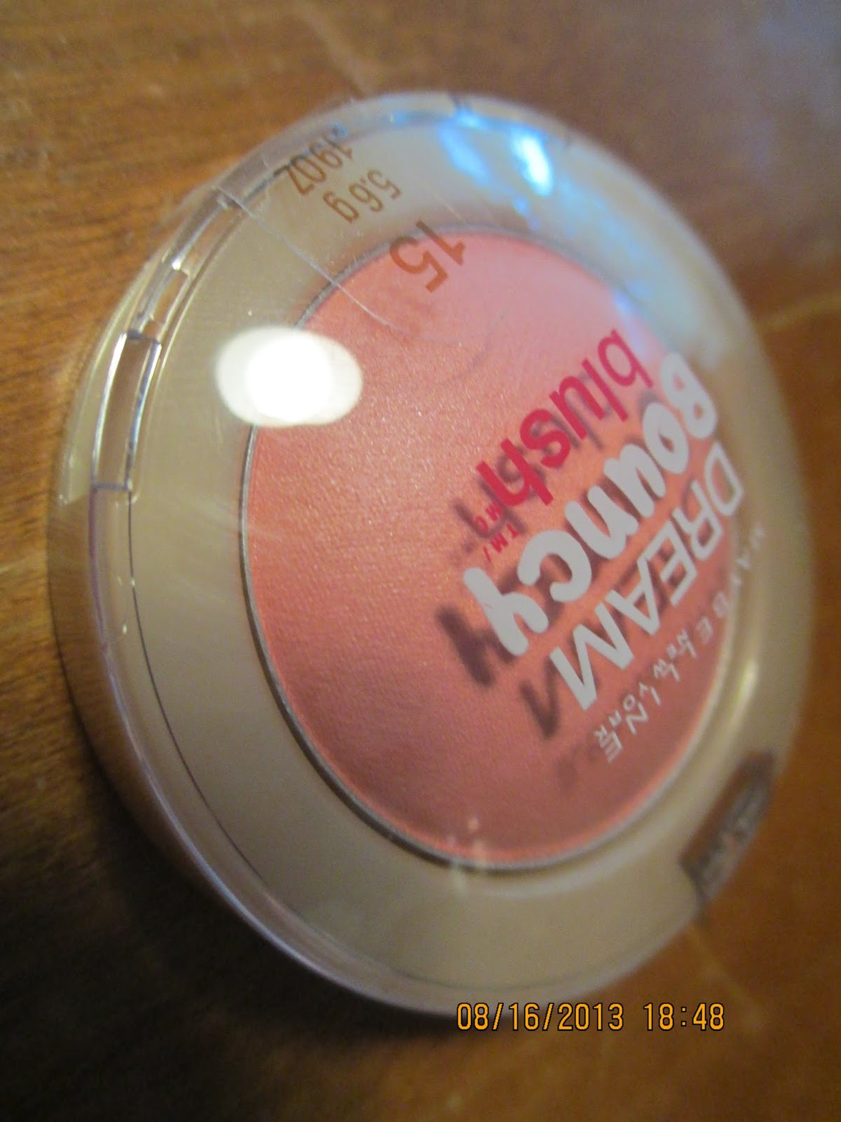 Petal Dream Off Hair Beauty Beauty Advertising Poster: Maybelline Dream Bouncy Blush- Rose Petal