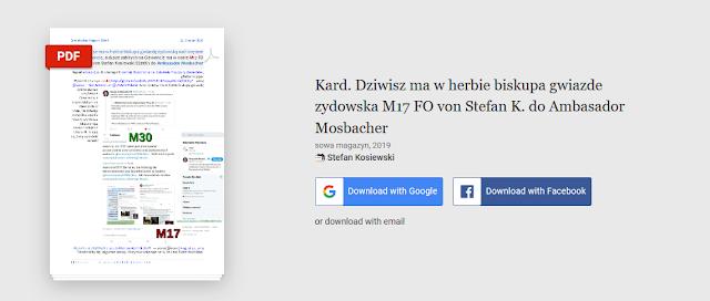 https://www.academia.edu/40689775/Kard._Dziwisz_ma_w_herbie_biskupa_gwiazde_zydowska_M17_FO_von_Stefan_K._do_Ambasador_Mosbacher