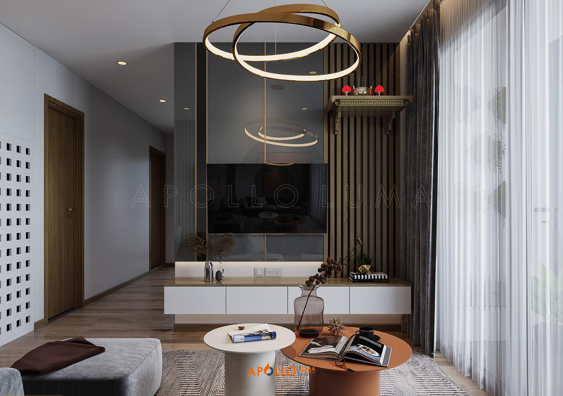 Thiết kế nội thất căn hộ 3 phòng ngủ Vinhomes Smart City Tây Mỗ