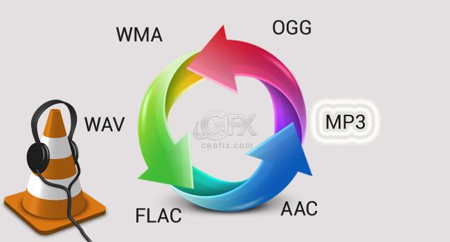 VLC İle Her Ses Formatını MP3 Formatına Çevir-www.ceofix.com