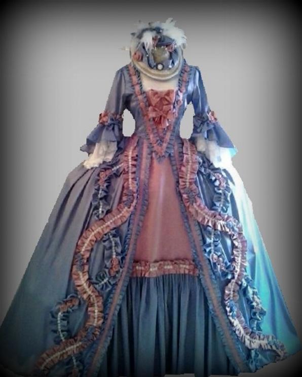Trajes de epoca n 60 vestido s xviii tallas de la 36 a - Trajes de carnaval de epoca ...