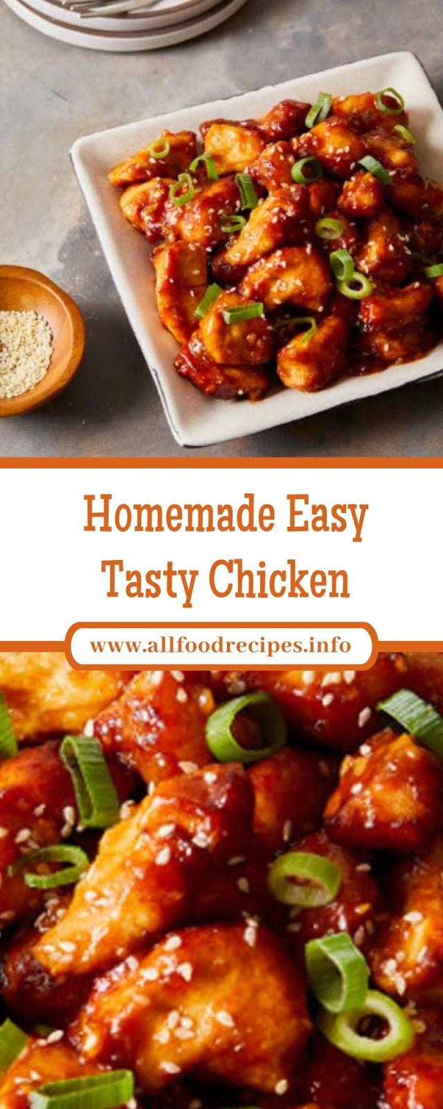 Homemade Easy Tasty Chicken