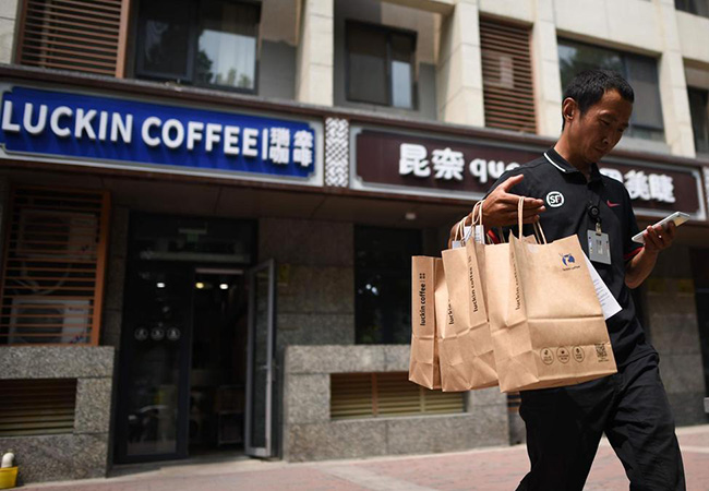 Tinuku Tencent and Luckin signs partnership in challenge to Alibaba-Starbucks