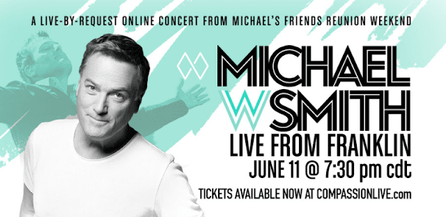 Compassion LIVE Announces Live-By-Request Online Concert With Michael W. Smith