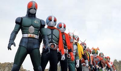Kamen Rider era Showa Pertama Yang Gak Pake Syal