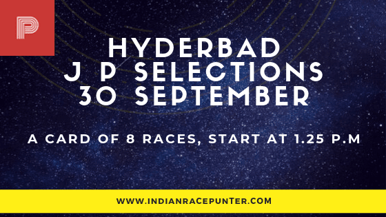 Hyderabad Jackpot Selections 30 September