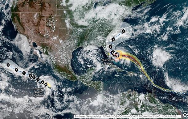 Трамп закликав молитися: до Багамських островів дійшов ураган Доріан