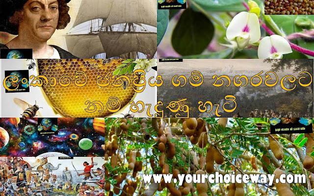 ලංකාවේ ජනප්රිය ගම් නගරවලට නම් හැදුණු හැටි (How Popular Villages And Towns In Sri Lanka Came To Be Known - Gamala Nam) - Your Choice Way