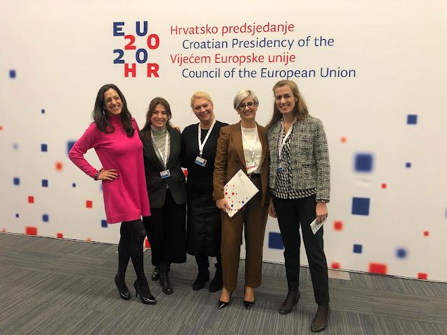 Σε διάσκεψη του Συμβουλίου της Ευρώπης στην Κροατία η Σόνια Τάνταρου-Κρίγγου