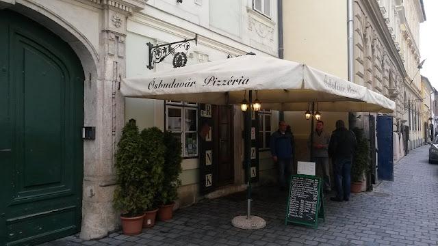 ristorante Ősbudavár dove mangiare a Budapest