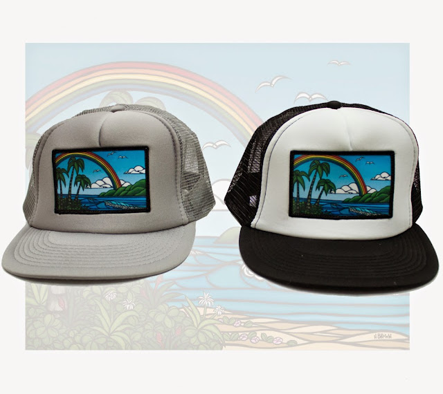 7a04d73f731 The Surf Art of Heather Brown  New Heather Brown Trucker Hats Now ...