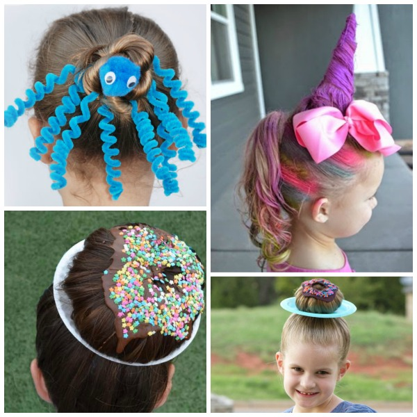 30 CRAZY HAIR IDEAS FOR KIDS- these are awesome!!  My kids love crazy hair day! #crazyhairideas #kidscrazyhair #kidscrazyhairdayideas #crazyhairday #crazyhair #crazyhairdayatschoolforgirlseasy #crazyhairdayatschoolforboys #growingajeweledrose