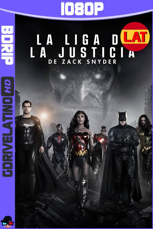 La Liga de la Justicia de Zack Snyder (2021) BDRip 1080p Latino-Ingles MKV