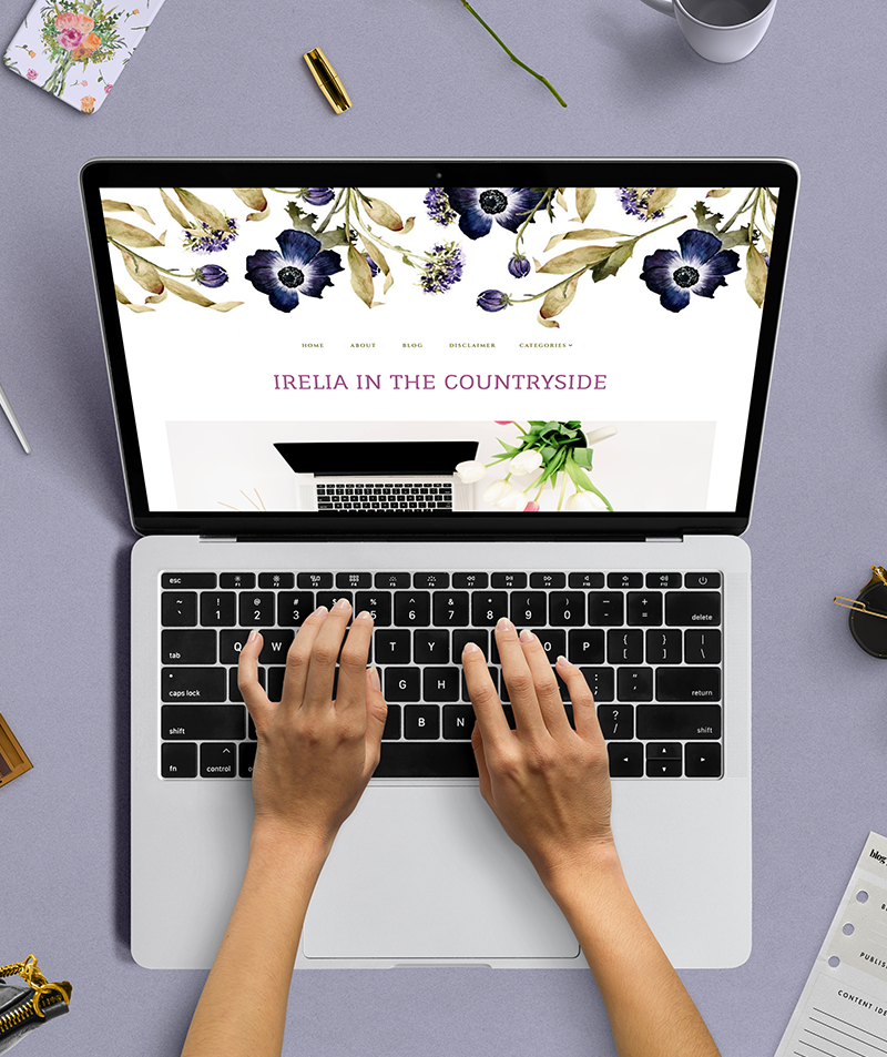 responsive blogger theme irelia in the countryside