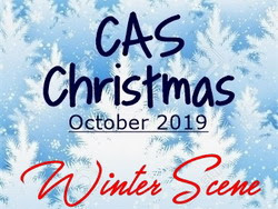 CAS Christmas Card Challenge - Winter Scene II