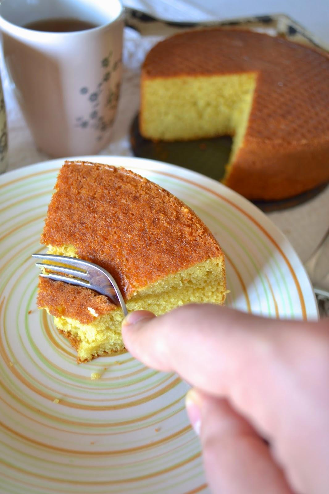 hot milk sponge cake's Tish Boyle
