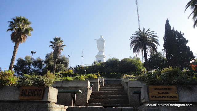 Santuário do Cerro San Cristóbal - Santiago, Chile