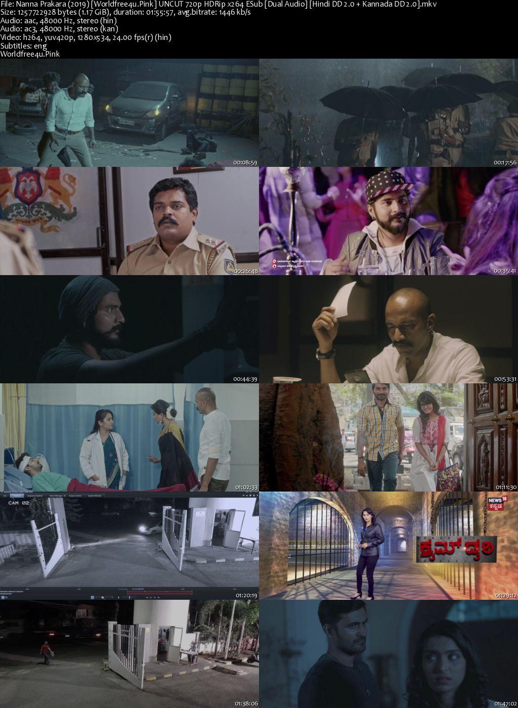 Nanna Prakara 2019 Hindi Dubbed HDRip 720p