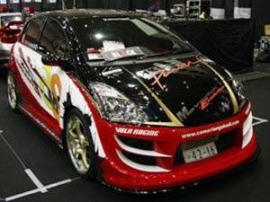Modifikasi  mobil Toyota Yaris